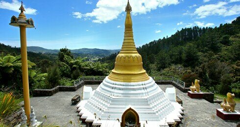 Nz wellington stupa