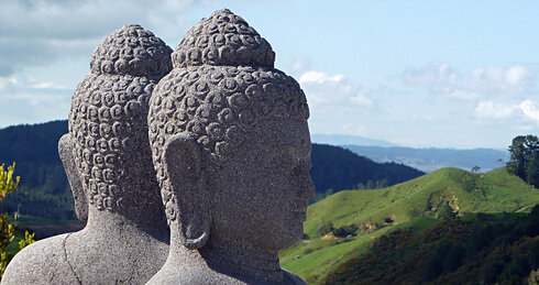 Nz vimutti stupa buddha